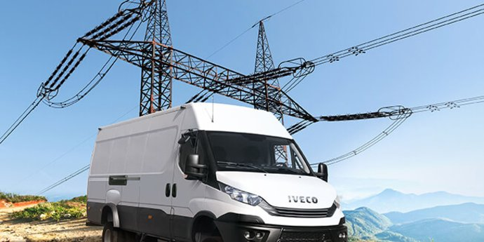 IVECO Daily 4x4 Kastenwagen