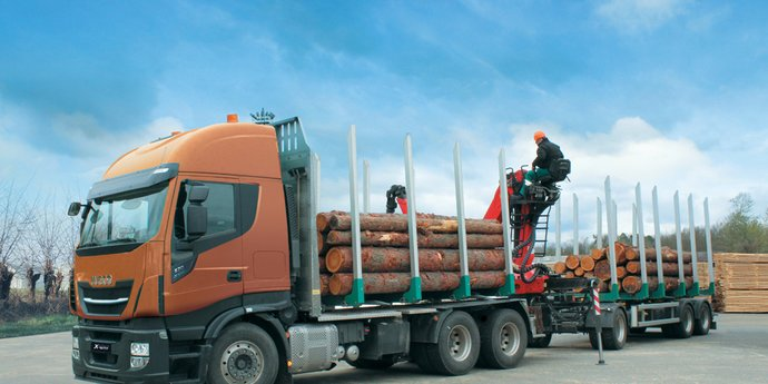 IVECO Stralis X-WAY Holztransport